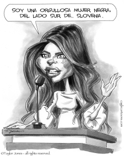 Melania habla by Taylor Jones