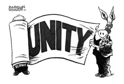 Democratic Unity by Jimmy Margulies