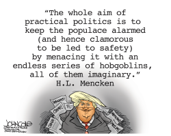 Trump and Mencken  by John Cole