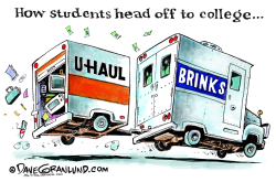 Off to college  by Dave Granlund