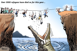 Refugee death this year by Paresh Nath