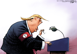 Dangerous Donald  by Nate Beeler
