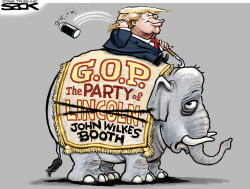 Trump's Party  by Steve Sack