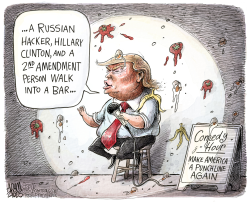 Comedian in Chief  by Adam Zyglis