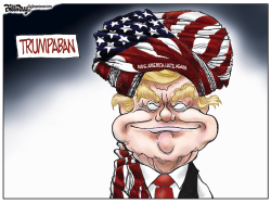 TRUMPABAN color by Bill Day