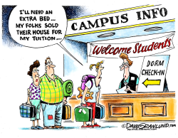 College costs  by Dave Granlund