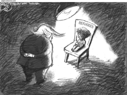 Extreme Vetting  by Pat Bagley