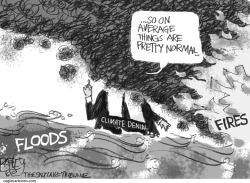 Climate Clown by Pat Bagley