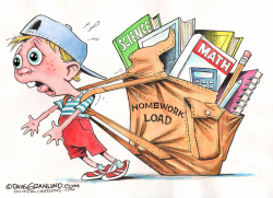 Homework load  by Dave Granlund