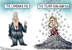 Hillary's emails by Joe Heller