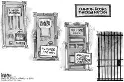 Clinton Doors by Rick McKee