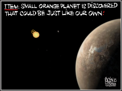 Earth-like planet discovered by Aislin