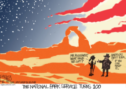 National Parks 100th Anniversary by Pat Bagley