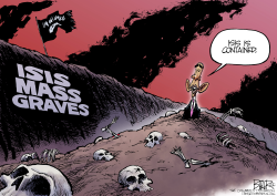Mass Graves  by Nate Beeler