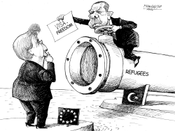 Turkey EU and Refugees by Petar Pismestrovic