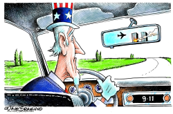 Sept 11 rear-view  by Dave Granlund