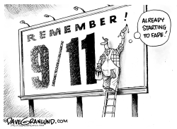 September 11 fading  by Dave Granlund