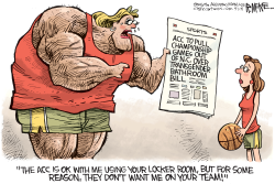 ACC pulls games  by Rick McKee