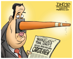 Christie knew about Bridgegate  by John Cole