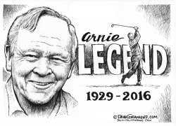 Arnold Palmer tribute by Dave Granlund