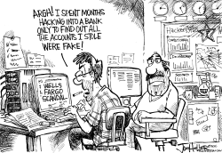 Wells Fargo by Joe Heller