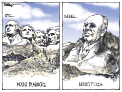 MOUNT PERES  color by Bill Day