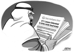 Intelligence Brief Warns of 9/11 Lawsuits in Saudi Arabia by RJ Matson
