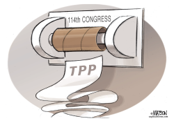 114th Congress and TPP Trade Bill- by RJ Matson
