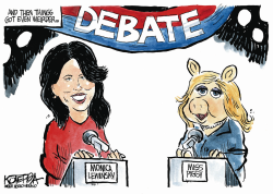 Weird Debate by Jeff Koterba