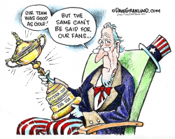 Ryder Cup 2016 USA win  by Dave Granlund
