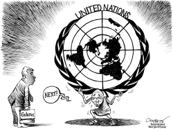 A new chief for the UN by Patrick Chappatte