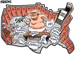 Trump Locker Room  by Steve Sack