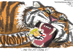 Pussy Grabber  by Pat Bagley