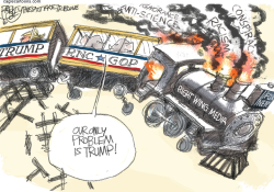 Trump Train by Pat Bagley