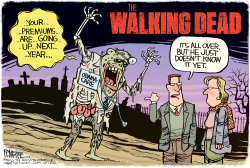 Walking Dead by Rick McKee