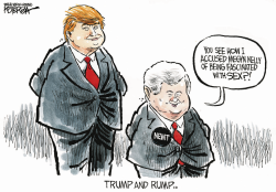 Trump and Rump by Jeff Koterba