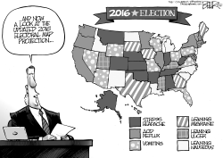 The 2016 Map by Nate Beeler