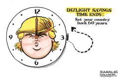 Daylight Savings Time Ends by Jimmy Margulies