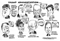 Trump administration by Dave Granlund