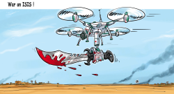 War on ISIS by Emad Hajjaj