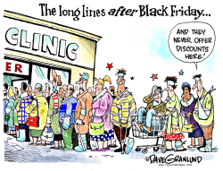 After Black Friday  by Dave Granlund
