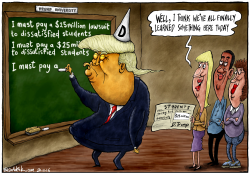 Trump University Scandal by Brian Adcock