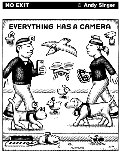 Everything Has a Camera by Andy Singer