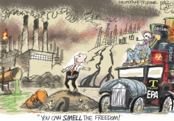 Environmental Predation Agency by Pat Bagley