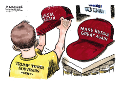 Trump and Russia color by Jimmy Margulies