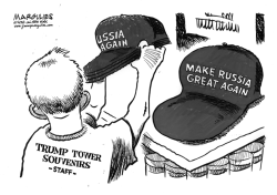 Trump and Russia by Jimmy Margulies