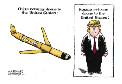 China returns drone to US color by Jimmy Margulies