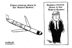 China returns drone to US by Jimmy Margulies