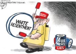 Fox News Lies by Pat Bagley