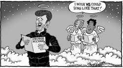 George Michael by Bob Englehart